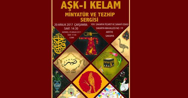 Minyatür Tezhip Aşk-ı Kelam SATSO'da