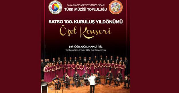 Türk Müziği Topluluğu'ndan SATSO 100. yıl konseri