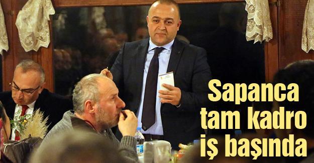 AK Parti Sapanca Mahalle Başkanlarıyla bir araya geldi