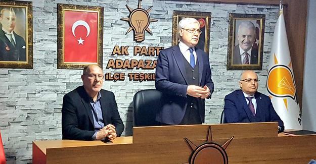 AK Partili mahalle başkanlarıyla toplantı yapıldı