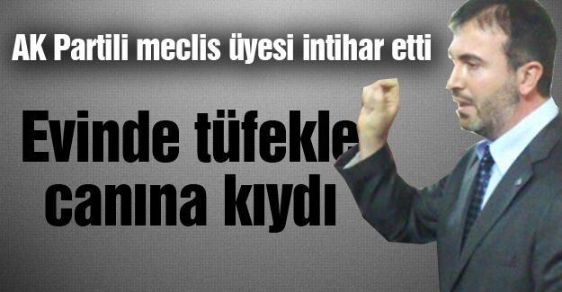 AK Partili meclis üyesi intihar etti