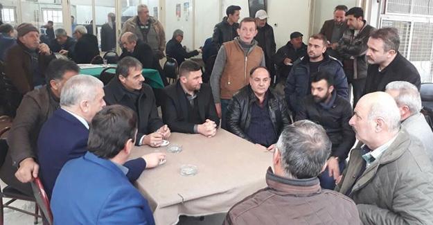 Alemdar ve Erken mahalle ziyaretlerinde