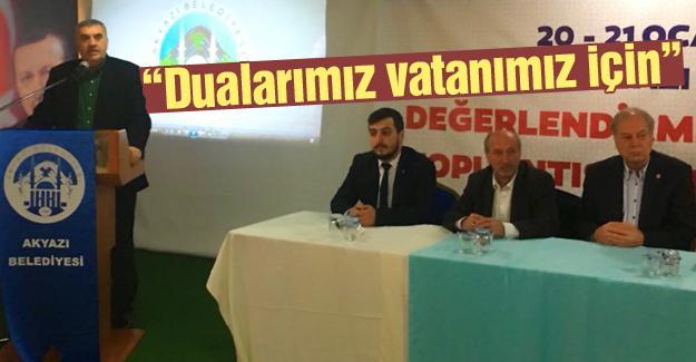 Başkan Toçoğlu istişare toplantısına katıldı