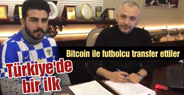 Bitcoin ile futbolcu transfer ettiler