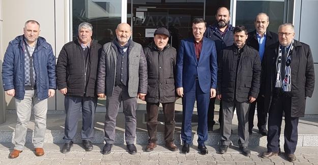 Hasan Ali Çelik'ten Hendek ziyareti