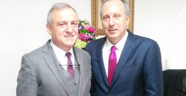 İnce ile Koludra Ankara'da bir araya geldi