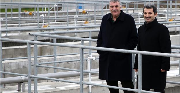 Kocaali atık su arıtma tesisi gün sayıyor
