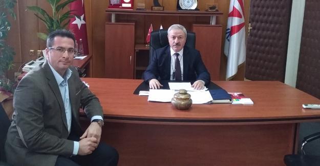 Memur- Sen'den TÜVASAŞ Genel Müdürüne ziyaret