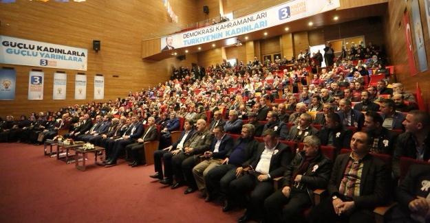 Serdivan'da İlçe Kadın Kolları seçim heyecanı