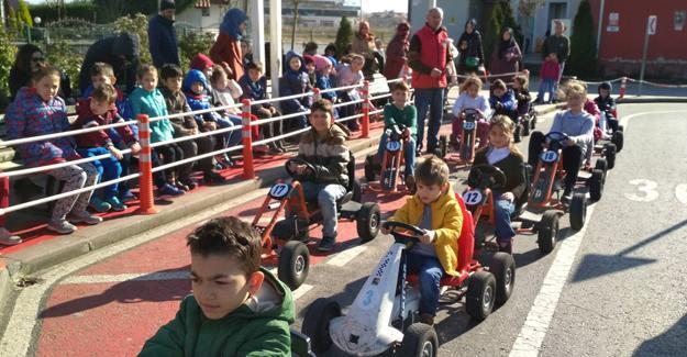 60 bin genç güvenli yarınlar için pedal çevirdi