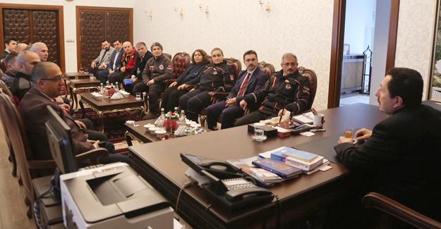 AFAD İl Müdürlüğünden Vali Balkanlıoğlu'na ziyaret