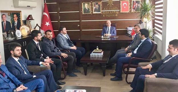 AK gençlikten başkanlara ziyaret