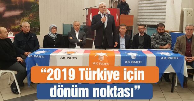 AK Parti Adapazarı Güneşler'de buluştu