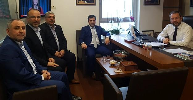 AK Parti Hendek, Ankara'da