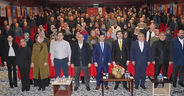 AK Parti Hendek'te Danışma Meclisi yapıldı