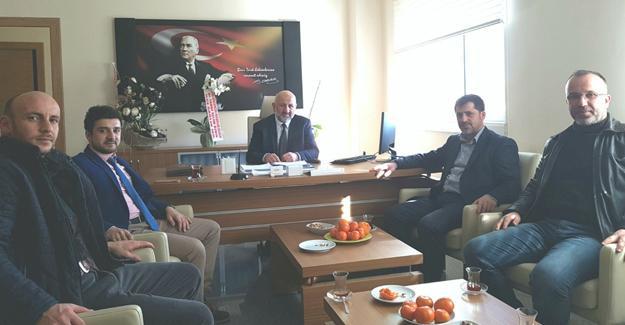 AK Parti Hendek'ten Başhekim Akyol'a ziyaret