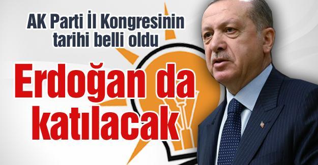AK Parti İl Kongresinin tarihi belli oldu