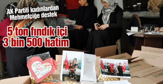 AK Partili kadınlardan Mehmetçiğe destek