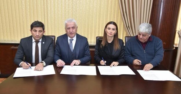 Azerbaycan Milletvekili Ganire Paşayeva ile protokol imzalandı