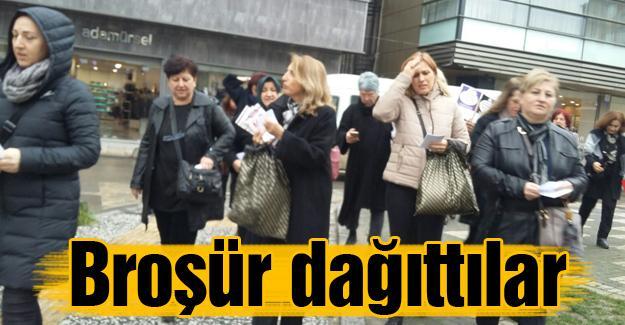 """CHP'li kadınlar """"Çocuk istismarına"""" dikkat çekti"""