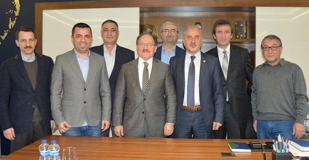 EMO yeni yönetim kurulundan SEDAŞ'a ziyaret