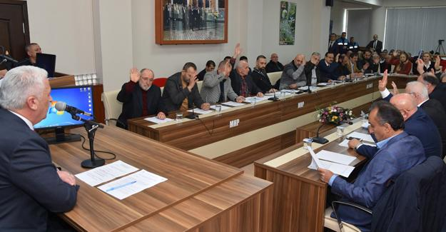 Karasu Belediyesi  meclis toplantısı yapıldı