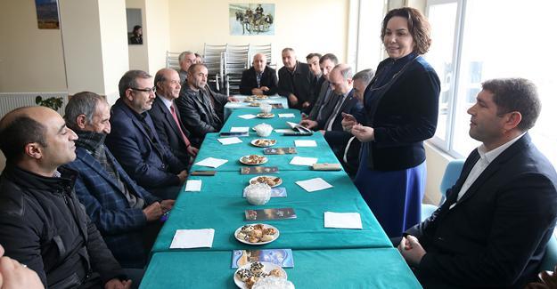 """""""Kültür derneklerimizin yanındayız"""""""