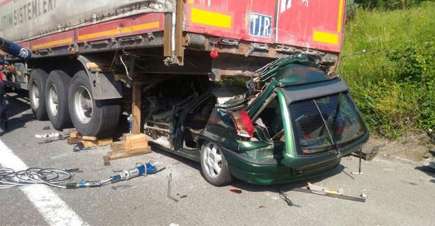 Ocak ayında 335 trafik kazası meydana geldi