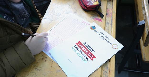 Sınava girecek öğrencilere tam destek