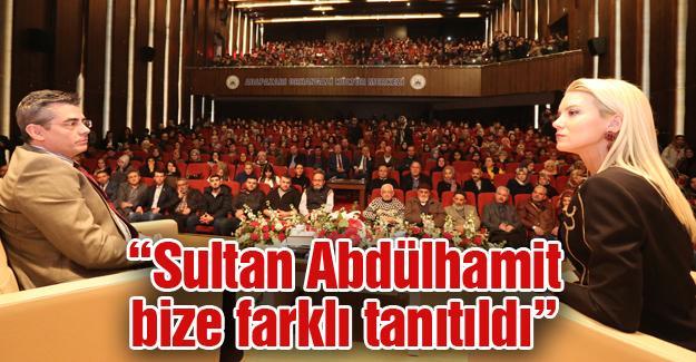 Sultan Abdülhamit Han ve mücadelesi anlatıldı