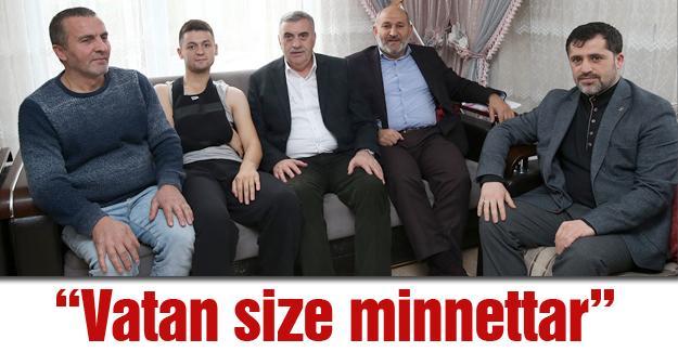 Toçoğlu'ndan Hendekli Gazi'ye ziyaret