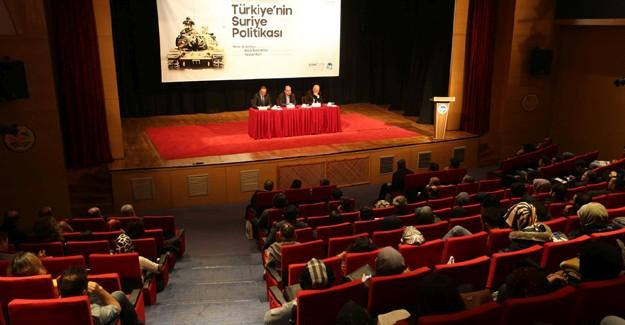Türkiye'nin Suriye Politikası AKM'de konuşuldu
