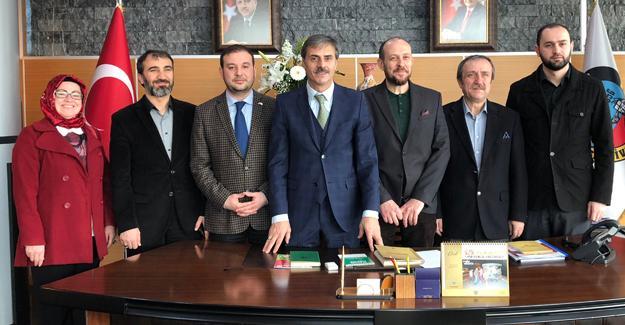 Yeşilay'dan Başkan Alemdar'a ziyaret