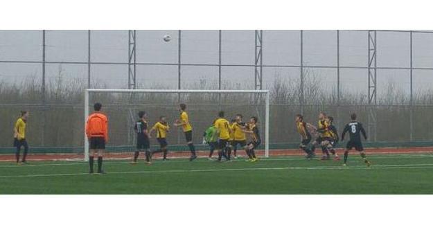 Hendek'te futbol heyecanı