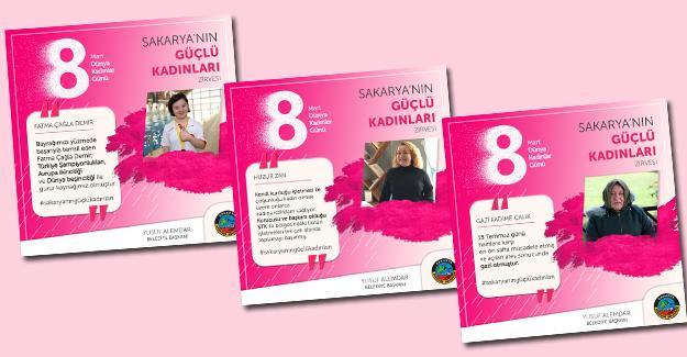Kadınlar Serdivan'daki zirvede buluşacak
