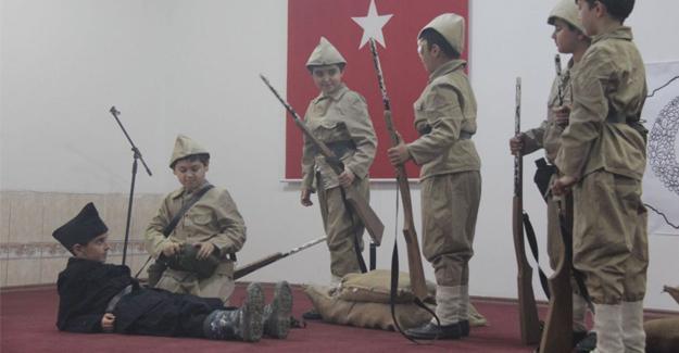 Karapürçek'te Çanakkale Zaferi kutlaması