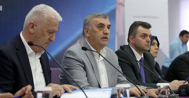 Toçoğlu AK Parti Karasu istişare toplantısına katıldı