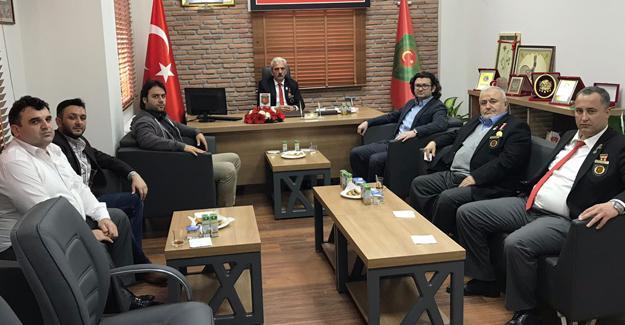 Trabzonlular Derneği'nden anlamlı ziyaret