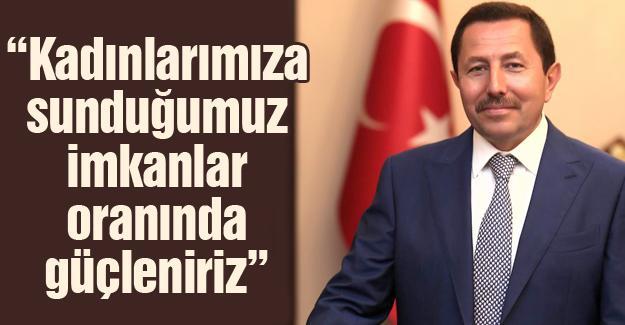 Vali Balkanlıoğlu'dan Dünya Kadınlar Günü mesajı
