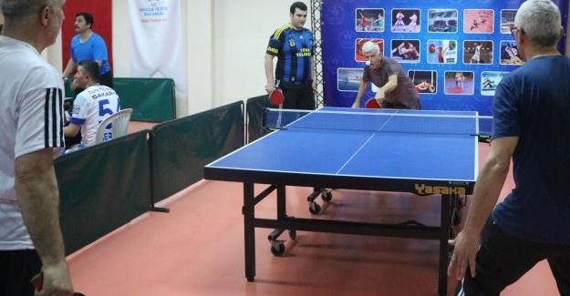 Masa tenisi etkinlikleri düzenlendi