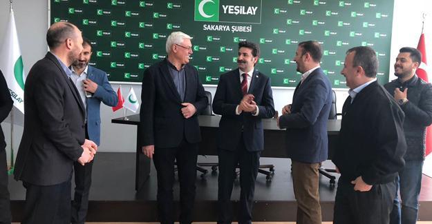 Milletvekili Üstün'den Yeşilay'a ziyaret