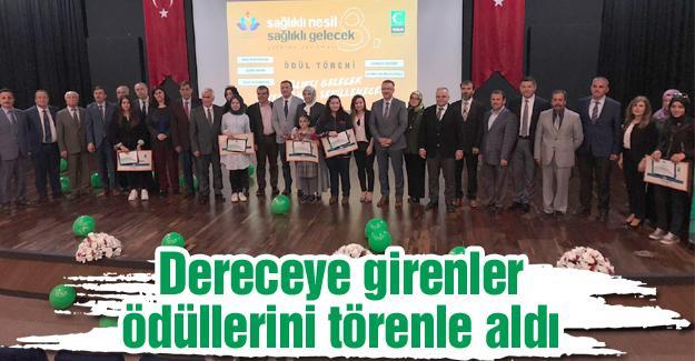 Yeşilay'ın yetenek yarışması ödül töreni yapıldı