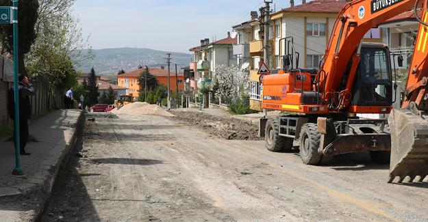 Yıldıztepe Caddesi yenileniyor