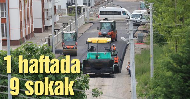 Adapazarı Belediyesi asfalt sezonunu açtı