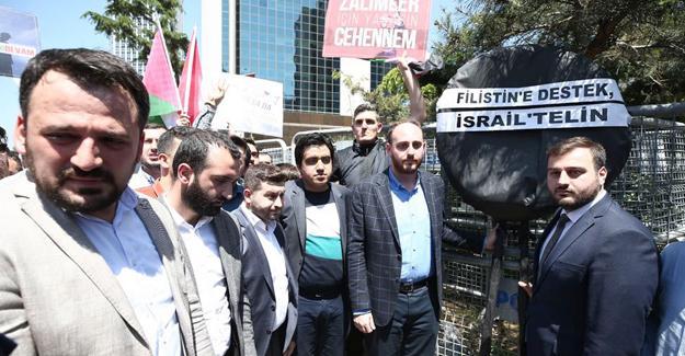 AK Gençlik'ten İsrail'e tepki