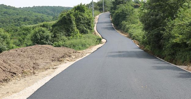 Ferizli Hocaoğlu'nda asfalt tamam