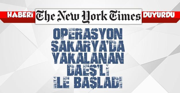 Haberi The New York Times duyurdu