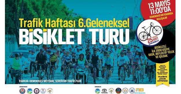 Pedallar Trafik Haftası için çevrilecek