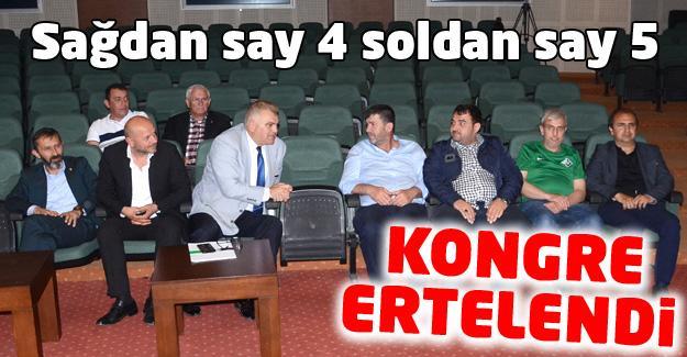 Sakaryaspor kongresi ertelendi!