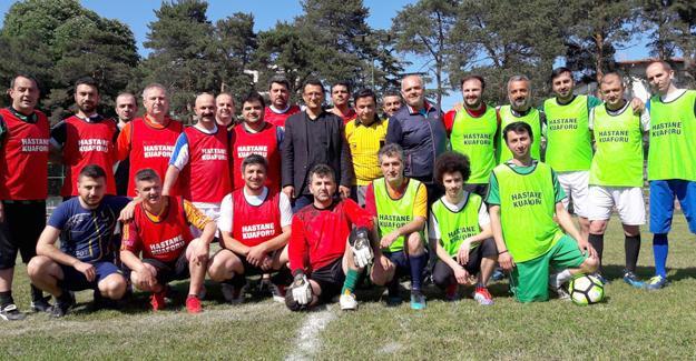 SAÜEAH'da futbol turnuvası düzenlendi